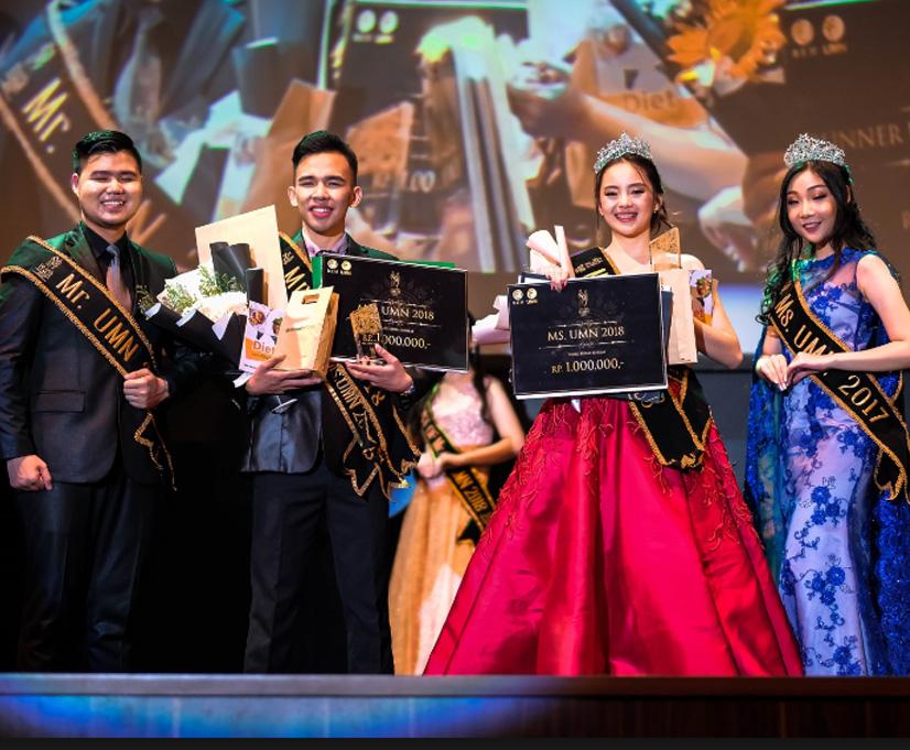 Awarding Night Mr & Ms UMN 2018: Menjadi Terang
