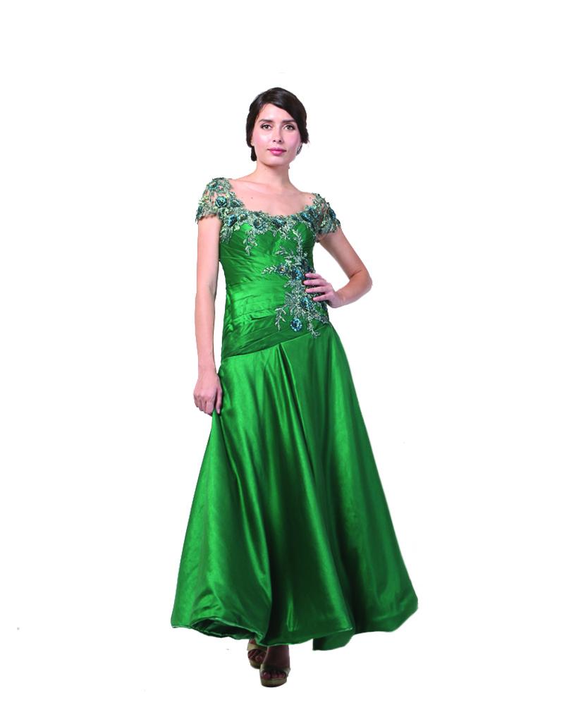 Emerald Green Drapping Pricillia