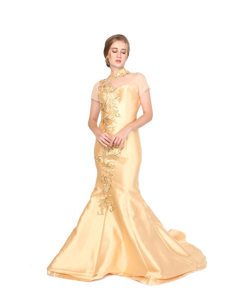 Gold Cheongsam Imelda