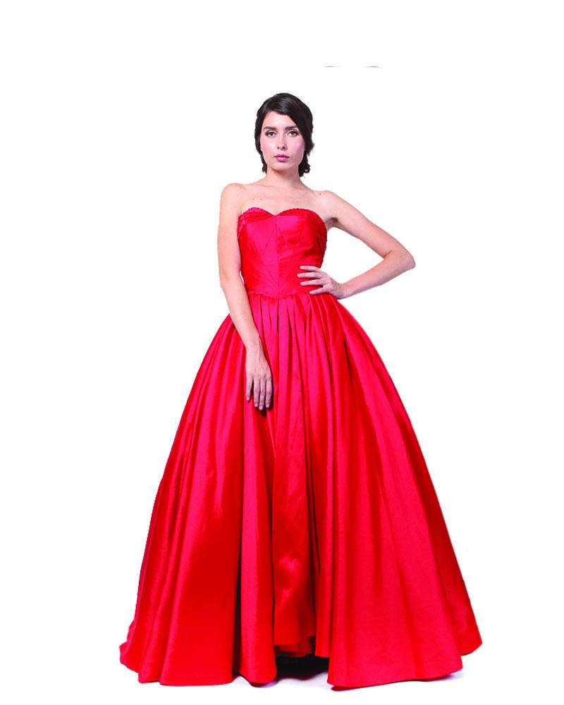 Red Royal Queen Ballgown